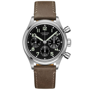 LONGINES AVIGATION BIG EYE 41MM ACCIAIO
