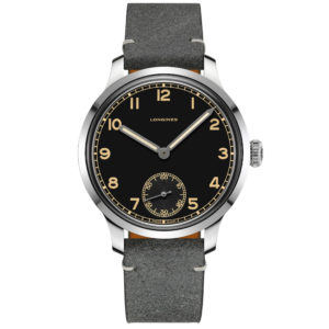 LONGINES HERITAGE MILITARY 1938 43MM ACCIAIO MANUALE