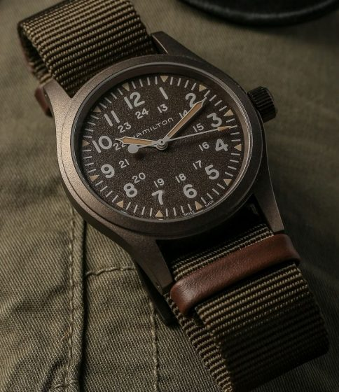 hamilton-khaki-Field-collection